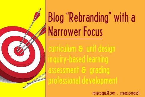 Blog %22Rebranding%22 with a Narrower Focus